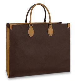 mehrfarbige leder patchwork handtasche Rabatt ONTHEGO Handtasche NEUE Frauen Handtasche Mode Große Duplexdruck Verschiedene Stil Hochwertige Designer Tasche Designer Handtasche