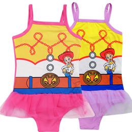 2019 weiße kinder bikinis scherzt Badebekleidung 2 färbt das gedruckte Spielzeug des Babys 3-10t einteiliger Badeanzug Mädchenentwerfer-Badebekleidungsbikini SS293