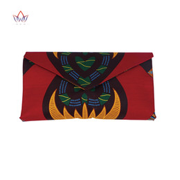 2af373ec9 Alta calidad Bazin Riche africana imprime cera tela moda mujer bolso para  el partido Hollandais con bolso de mano WYb382
