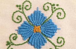 Fiori cuciti online-Fiore colorato Pizzo Bordo Larghezza del nastro Bordi in stile vintage Passamaneria Tessuto ricamato Applique Cucito Decorazione artigianale 06