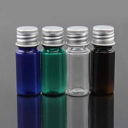 Bottiglie pillola piccolo plastica online-Bottiglie 10ml cosmetica vuota Idratante Profumo contenitore, piccola pillola bottiglie Stroge plastica, bottiglia di plastica trucco, Dimensione viaggio