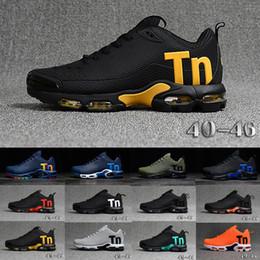 zapatillas negras Rebajas nike Tn plus air max 2019 Original Tn Mercurial diseñador zapatillas Chaussures Homme TN zapatos de baloncesto hombres para mujer Zapatillas Mujer Mercurial TN zapatos Eur40-47