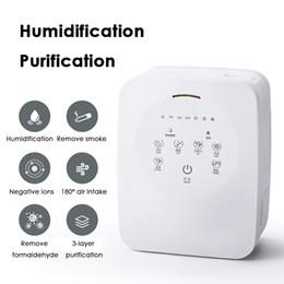 2019 ambientador de habitación JP016 Mini purificador de aire Hogar Oficina de escritorio Purificador de aire Purificación de humidificación de habitación DC24V Iones negativos Ambientador rebajas ambientador de habitación