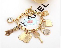 VENTE CHAUDE mode marque Charms Pendentifs Bracelets Bracelets Pour Femmes Hommes enfants bijoux DROP SHIPPING 10pcs / ? partir de fabricateur