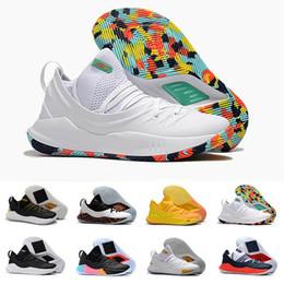 21958be8b6f 2019 scarpe di curry Nuovo rilascio Stephen Curry 5 V Mens scarpe da basket  Under Golden