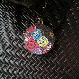 Argentina 2019 Más nuevos accesorios de llavero Diseño de acero inoxidable llavero para weom cuero modelo de pollo llavero de coche bolsa de accesorios 8 estilo Suministro
