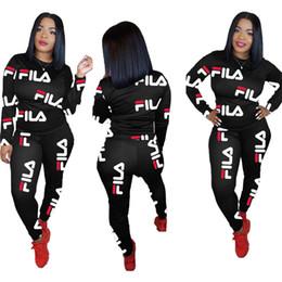 Kadın eşofman Hoodies Pantolon 2 Parça Set Kıyafetler Tayt Uzun Kollu Eşofman Ekip Boyun Kazak Güz kış Moda Giyim 1319 supplier boy s hoodies nereden erkek ceketi tedarikçiler