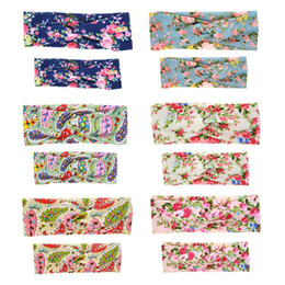 2021 комплект для новорожденных 6 Pack Mommy and Me Headbands Hair Band Bow Knot Headbands Baby Hair Accessories Turban Baby and Mommy Cotton Headwrap Set,6 S
