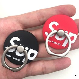 Soporte iphone rojo online-Soporte para teléfono universal Soporte para teléfono Soporte para teléfono de TPU para 99% Diseño de moda de teléfono negro rojo para iPhone Huawei