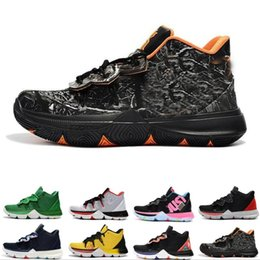 0cd071af114 2019 Kyrie Men 5 Basketball Shoes for Cheap Sale Irving 5s Sneakers Sports  Mens Shoe Wolf Grey Team Red Outdoor Trainers BasketBall Shoes