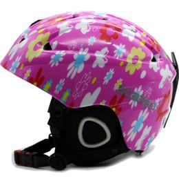 2019 cascos ops core Mujeres / Hombres / Niños Casco de esquí / Gafas Snowboard Casco Moto Ciclismo Patinaje Monopatín Casco de seguridad Invierno Cálido Fleece