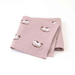 Одеяло кроватки мальчика онлайн-Baby Boy Одеяла Детские Пеленание Wrap Детские Пеленания Одеяла Вязать Новорожденных Кроватки Постельные Принадлежности Коляска Крышки Корзины