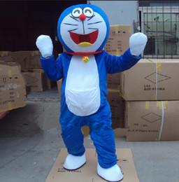 nette roboterkarikatur Rabatt Super Hohe Qualität Doraemon Maskottchen Kostüm Roboter Katze Niedlichen Charakter Anime Manga Maskottchen Kostüm Erwachsene Anzug Cartoon