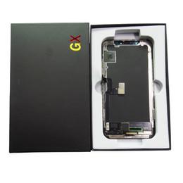 Pieza de reparación de la pantalla LCD para iPhone X Soft Amodel GX - Pantalla LCD Pantalla táctil Pantalla digitalizadora Reemplazo completo de ensamblaje desde fabricantes