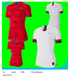 soccer jerseys united states Coupons - 2019 America girl Soccer Jersey United States home away Shirt USA women 3 star LLOYD RIPINOE KRIEGER Football Female 19 20