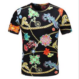 5a642b2248f01d Best seller Summer Newest T-shirt di alta qualità Mens Summer box logo 3D  Digital Fiori e piante stampa T-shirt mens designer Short
