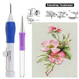 Pluma de fantasía online-Herramienta de costura Fantasía nuevo Magic Pen bordado bordado de aguja que teje bricolaje gota de accesorios de envío
