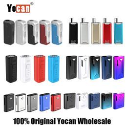 Argentina 100% original Yocan Hive 2.0 UNI Wit Groote Kodo Kit Wax Dry Herb Pen Vaporizador 300 400 650 1100mAh Batería E Cigarrillo Vape Pen Starter Kit Suministro