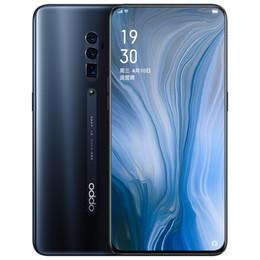 2019 k1 téléphones cellulaires Téléphone portable d'origine OPPO Reno 10X 4G LTE 6 Go de RAM 128 Go de 256 Go de ROM Snapdragon 855 Octa Core 6.6 pouces plein écran 48MP d'identification de visage NFC téléphone mobile