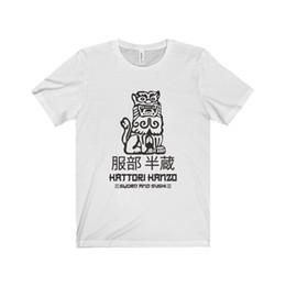 T-shirts en Ligne-Hattori Hanzo Shirt Tuer Bill Tarantino Film Samurai Sword Hommes Unisexe T-shirt top livraison gratuite t-shirt