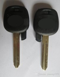 nissan car shell caso remoto Desconto KL22 Novo Uncut Substituir Remoto Transponder Chave Do Carro de Ignição para Toyota Tacoma Toy43 Lâmina Sem Chip
