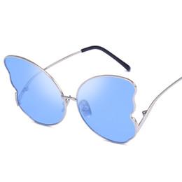 Deutschland Cat Eye Spiegel Sonnenbrille 2019 Metall Schmetterling Sonnenbrille Sonnenbrille Frauen Uv400 Schutzbrille Versorgung