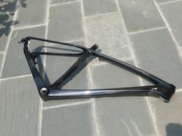 2019 kohlenstoff mtb fahrradrahmen Auslässe 29ER Rahmen - Toray Carbon Glossy Matt Scheibenbremsrahmen Mountainbike MTB 29ER BB30 17