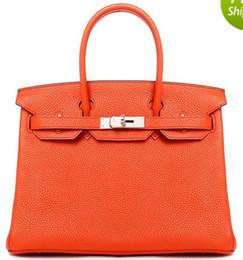 Bolsos de mujer de hardware de plata bolso de hombro bolso de mano al por mayor bolso de dama JP AU Francia CA cartera Togo Epsom bolsos de cuero genuino EE.UU. EUR desde fabricantes