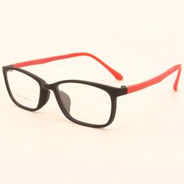 a02a6447e66 Élégant Urltra-Light TR90 Rectangulaire Full Rim Hommes Optique Lunettes De  Vue Cadres Femmes Myopie Presbytie Lunettes Haute Qualité montures de  lunettes ...