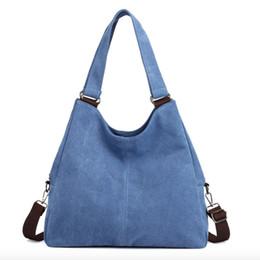 saco de vagão caqui Desconto Bolsas Feminina Venda Bolsos Mujer 2018 New Retro Canvas Bag Multi-camada Grande Capacidade Casuais Mulheres Mensageiro Bolsa de Ombro