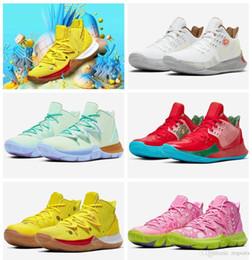 tvs für billig Rabatt 2019 neue Ankunftmens Kyrie Schuhe TV PE-Basketball-Schuhe 5 für Billig 20. Jahrestag Sponge x Irving 5s V Fünf Luxus-Turnschuhe