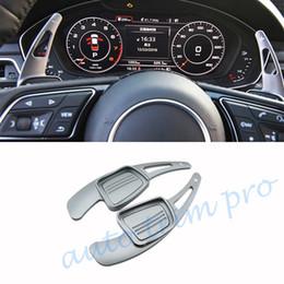 Дополнительный рычаг переключения передач Переключатель рулевого колеса DSG Level Paddle, подходящий для Audi A3 A4L A5 S3 S4 Q2 Q5 Q7 TT TTS Аксессуары от Поставщики a3 рулевое колесо