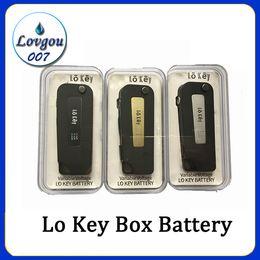 Llave de visión online-Lo Key Battery Flip Vape 350 mah Precalentamiento 3 Configuración Voltaje 2.4-3.2-4.2V Para todos los cartuchos de Vape VS imini vision spinner
