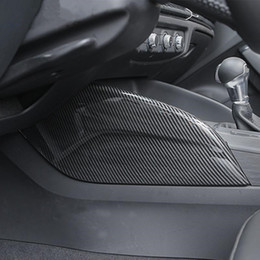 Console centrale de voiture les deux panneaux latéraux Décoration Couverture Garniture En Fiber De Carbone Couleur 2pcs Pour Audi A3 8V 2014-18 ABS De Style Intérieur ? partir de fabricateur