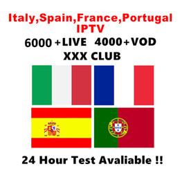 Wholesale IPTV Subscription Live VOD абонемент IPTV Италия Испания Португалия арабский Франция IPTV США латино для MAG322 Android box Smart TV