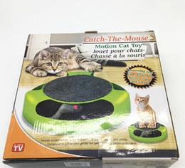 детские игрушки Скидка Cat Cat Catch Mouse Tray Motion Cat Toy Творческий Pet Cat Puzzle Toy Забавный Питомец Котенок Интерактивная Обучающая Игрушка