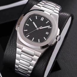 Мужские часы серебряные онлайн-19 цветов оптовые мужские часы с автоматическим механизмом Glide sooth секундная стрелка сапфировое стекло серебряные часы наручные часы высокого качества