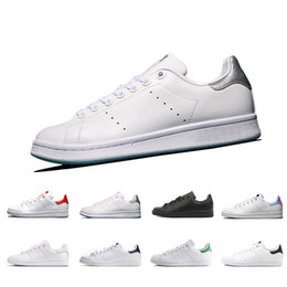 2019 stan shoes fashion smith Brand Top quality mens womens new casual  shoes leather sports sneakers Shoes size eur 36-44 womens stan smith shoes  on sale 18be467c3