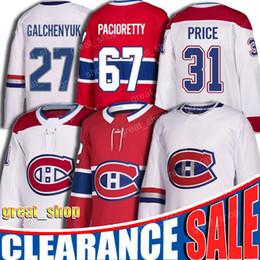31 Carey Price camisa 67 Max Pacioretty jerseys 27 Alex Galchenyuk jersey Montreal Canadiens hockey jersey 92 Jonathan Drouin de Fornecedores de nhl hóquei vancouver jersey