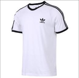 2019 Mujeres Hombres Camiseta de Manga Corta Tops de Verano para Pareja Venta Caliente Diseñador Camisa Blanca con Carta de Impresión Tamaño XS-XXL desde fabricantes