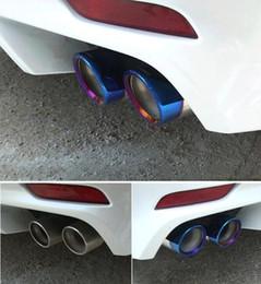 soleira de porta nissan Desconto De alta qualidade em aço inoxidável 4 pcs silenciadores de carro, saída de saída de tubo de escape, silenciador para Toyota Camry 2018 (a 8 ª geração)