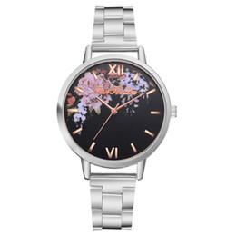 2019 женва часы женщины серебристый  Gold Silver Casual Quartz Watch Geneva Women Flowers Watches Sport Woman Clock Stainless Steel Romantic Girl Gift скидка женва часы женщины серебристый