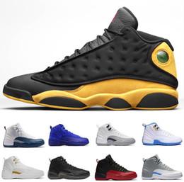 ccb4e589f1 2019 caliente mejor calidad 12 12s XII Zapatillas de baloncesto Zapatillas  de deporte Hombre Gimnasio Rojo Triple Blanco Ala Doernbecher diseñador moda  ...