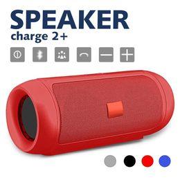 2019 swan bluetooth altoparlante Altoparlante portatile Subwoofer Charge 2+ Bluetooth Altoparlante wireless per doccia Ricevitore chiamate vivavoce Altoparlante per basso con scatola al dettaglio