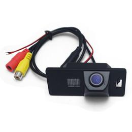 audi a4 camera Скидка Автомобильная камера заднего вида для AUDI A1 / A4 (B8) / A5 S5 Q5 TT / VW PASSAT R36 5D Камера заднего вида с обратной парковкой # 3589