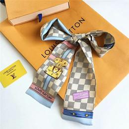 Designer Silk HANDBAG Sac foulard Bandeaux Nouveau luxe femmes foulards de soie 100% Top soie sac foulard bandes de cheveux 8x120cm ? partir de fabricateur