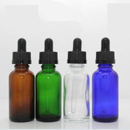 2019 botella cuentagotas bomba Botella de vidrio de viaje de 30 ml con tubos de muestra de perfume de gotero puro para botella de aceite esencial rellenable RRA1148