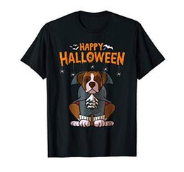ec9533e05 Funny Boxer Halloween Costume Dog Bone Dad Mom Shirt Tees Custom Jersey t  shirt men funny boxer outlet