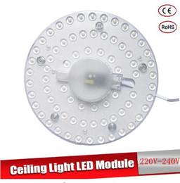 Светодиодный Модуль AC220V 230 В 240 В 12 Вт 18 Вт 24 Вт 36 Вт Энергосберегающие Заменить Потолочный Светильник Источник Света Удобная Установка от