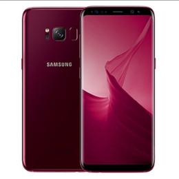Samsung 128gb on-line-Original samsung galaxy s8 s8 mais desbloqueado celular 4g rom 64 gb / 128 gb android 5.8